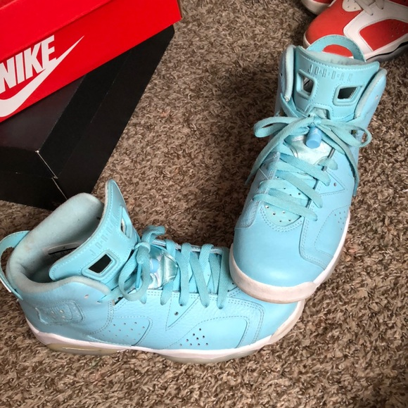 Jordan 6 , Baby Blue